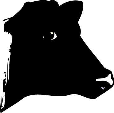 Beef clipart silhouette ClipartBarn cow silhouette images and