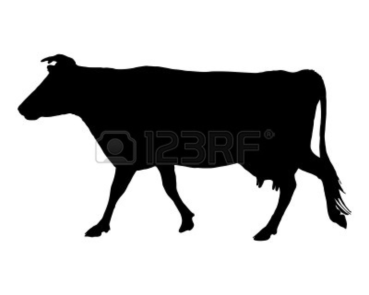 Beef clipart silhouette Cow Clipart Free Clipart Clipart