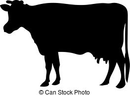 Beef clipart silhouette 774 Cow silhouette 4 silhouette
