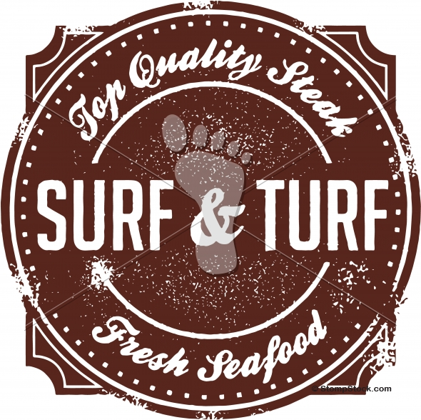 Beef clipart surf and turf Surf Steak – and Vintage
