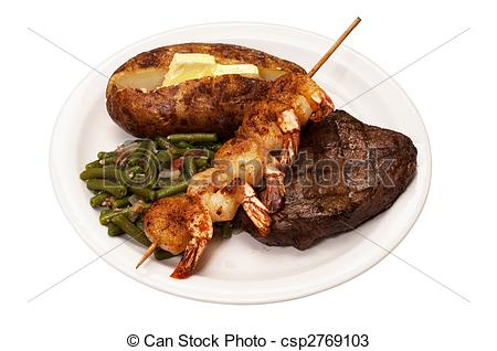 Beef clipart surf and turf Sirloin Stock Turf steak Turf