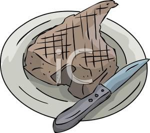 Steak clipart t bone steak T Royalty Clipart Picture Steak