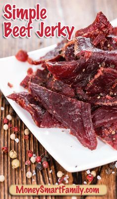 Beef Jerky clipart healthy snack TEC on  Homemade Easy