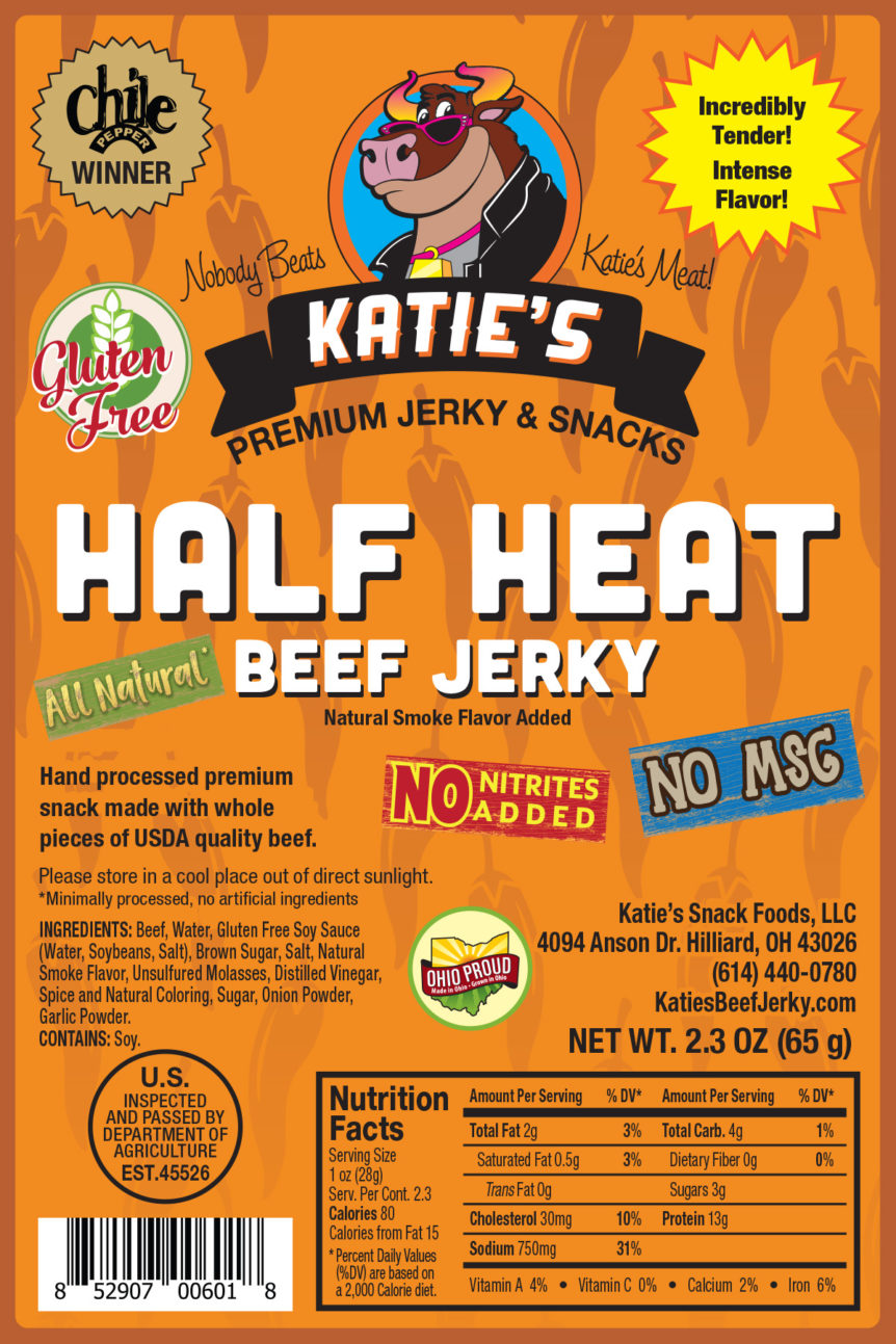 Beef Jerky clipart processed Katie's Snack Beef Free –
