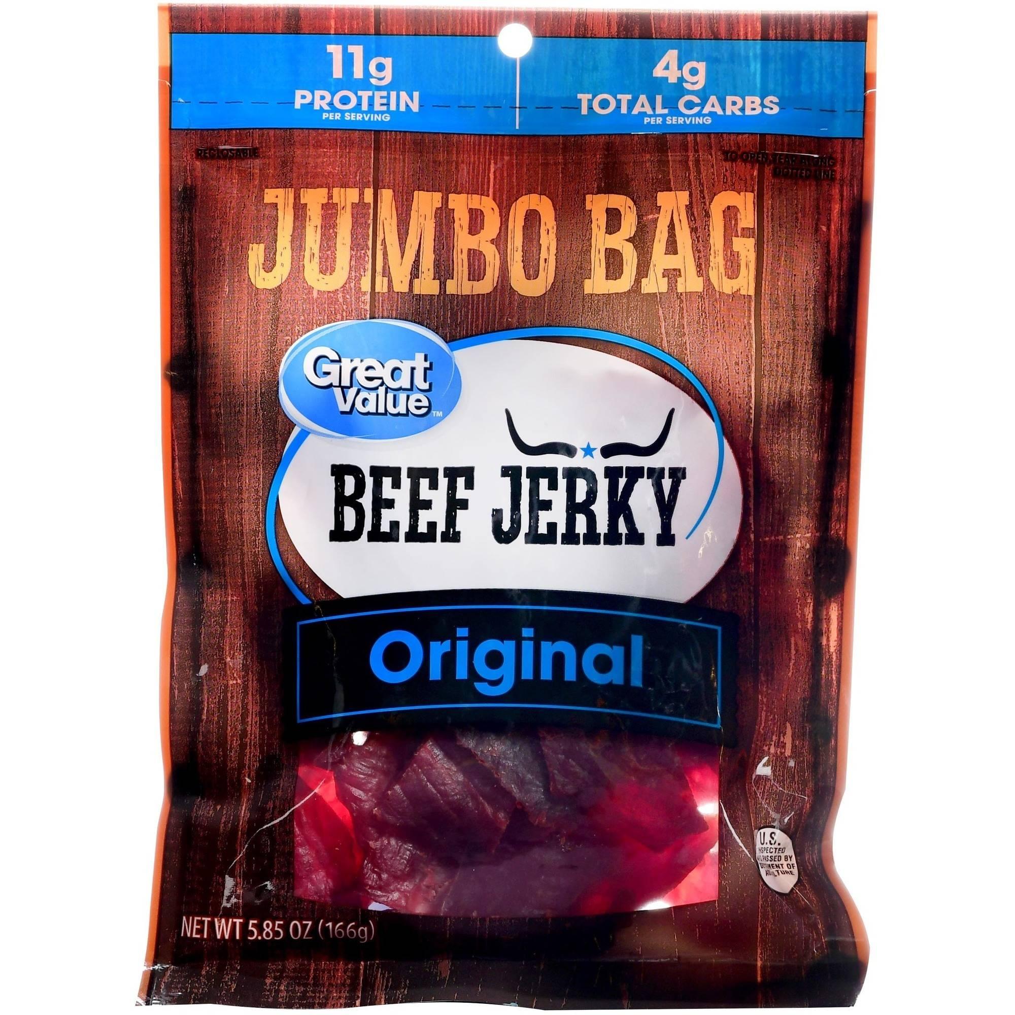 Beef Jerky clipart school snack Original Great Snack Value Jerky