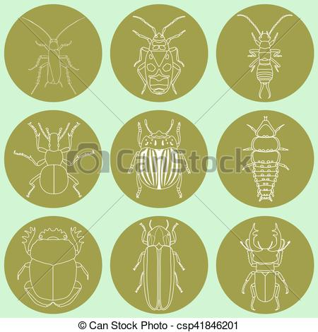 Beatle clipart dor Dor and set fly insect