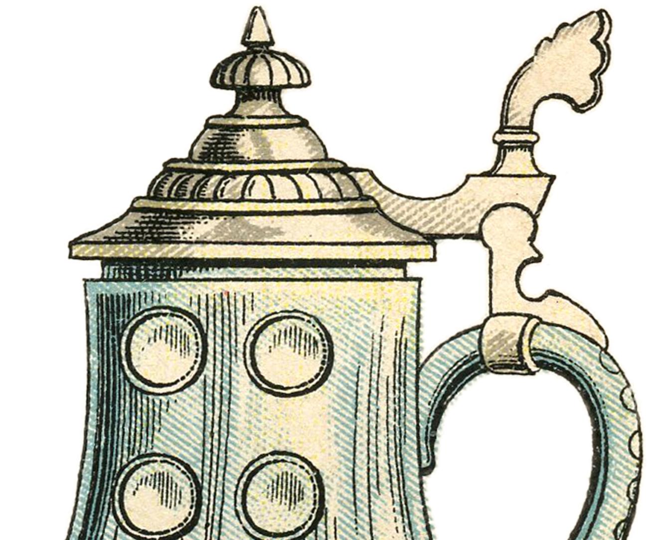 Beer clipart beer stein Beer Graphics Public  Domain