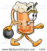 Beer clipart bowling Designs Sports Royalty Ball Bowling