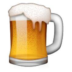 Beer clipart emoji #4