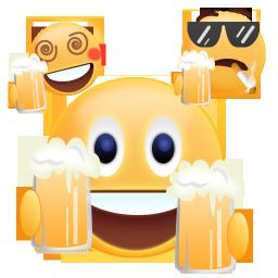 Beer clipart emoji #9
