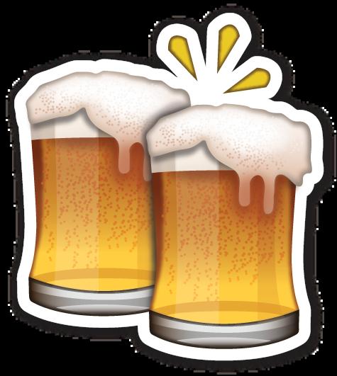 Beer clipart emoji #11