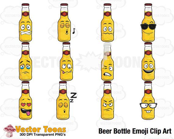 Beer clipart emoji #10