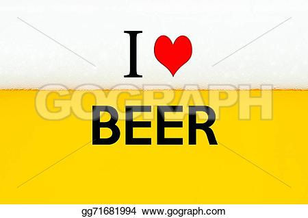 Beer clipart i love #3