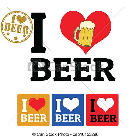 Beer clipart i love #7