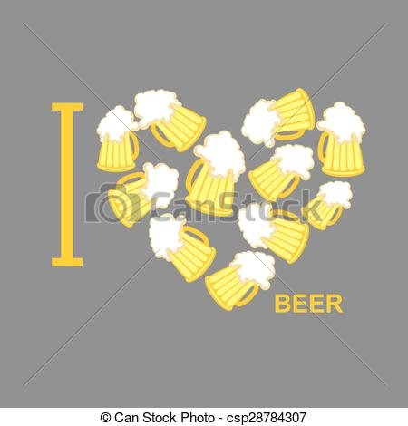 Beer clipart i love #6