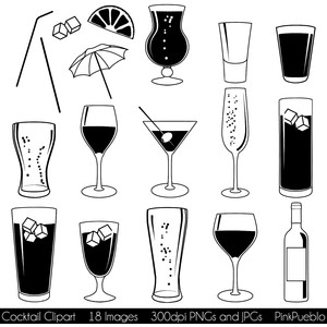 Beer clipart martini #4