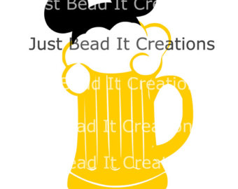Beer clipart mickey Inspired File Etsy Mickey Die