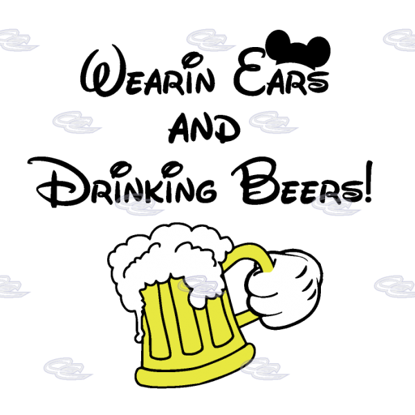 Beer clipart mickey With and mwm Hand and