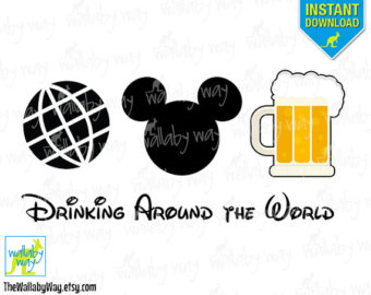 Beer clipart mickey DIY Around Clip beer as