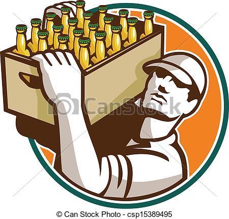 Beer clipart retro #5