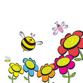 Bees clipart bee flower Flower Bee bee%20and%20flower%20clipart Panda And
