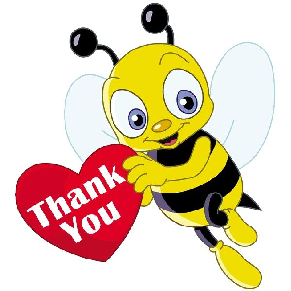Bees clipart clear background Ideas cartoon Are On Honey