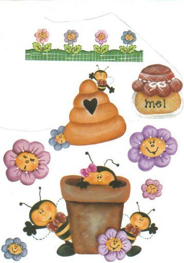 Bees clipart country Clip Bees Geis Carola art