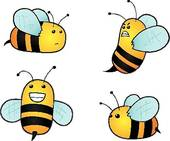 Bees clipart four The Honeycombs bees Art Bees