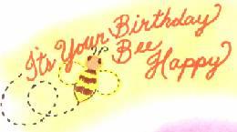 Bees clipart happy birthday ScrapbookScrapbook Birthday birthday com your