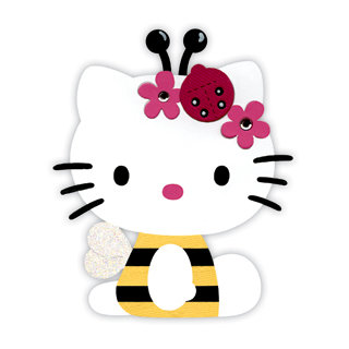 Bees clipart hello kitty Cutting Hello Bigz Die Collection