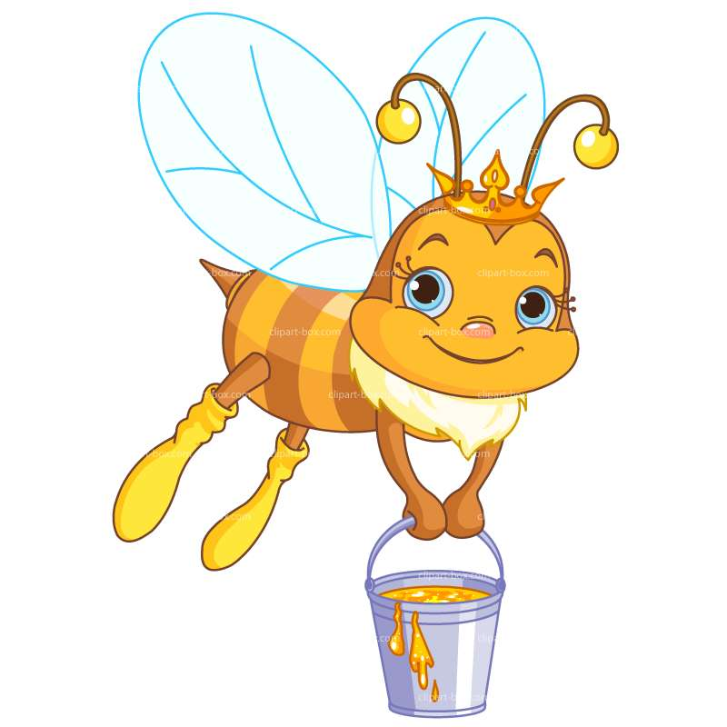 Bees clipart honey nut cheerios Vector Royalty Бесплатные коровки free