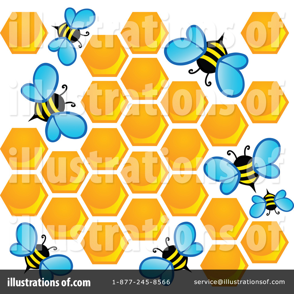 Bees clipart orange By visekart (RF) #1110714 Illustration