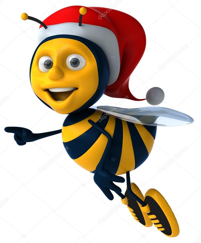 Bees clipart santa Photo julos bee © —