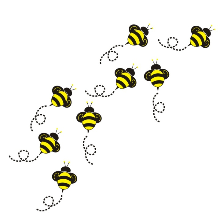 Bee Hive clipart flying Bee Flying Flying Clip Bumble
