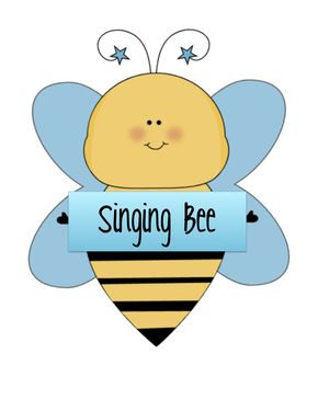 Bees clipart singing bee Songs Activities Bee Singing Bees
