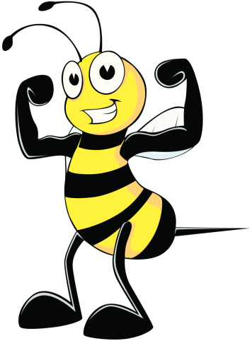 Bees clipart strong Bee Pivot Strong clipart Clipart