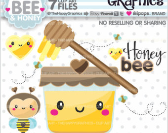 Bees clipart sweet honey 80%OFF Clipart COMMERCIAL Honey Clipart