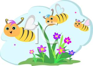 Bees clipart three Over Over Buzzing Bees Buzzing