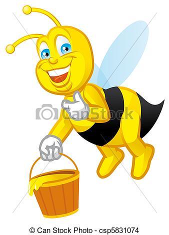 Bees clipart worker bee Illustrations bee bee 411 Worker