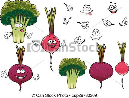 Beet clipart radish Radish Clip csp29730369 vegetables