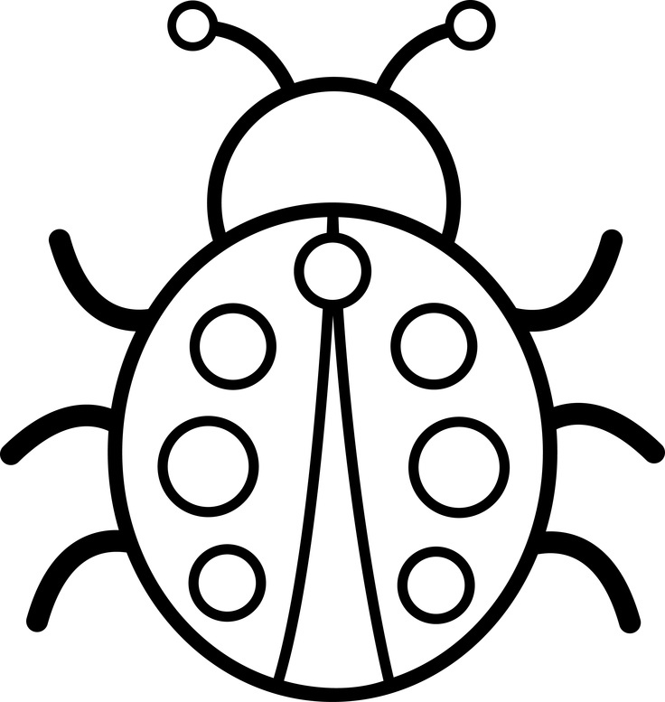 Beetle clipart black and white Black And Clipart Art