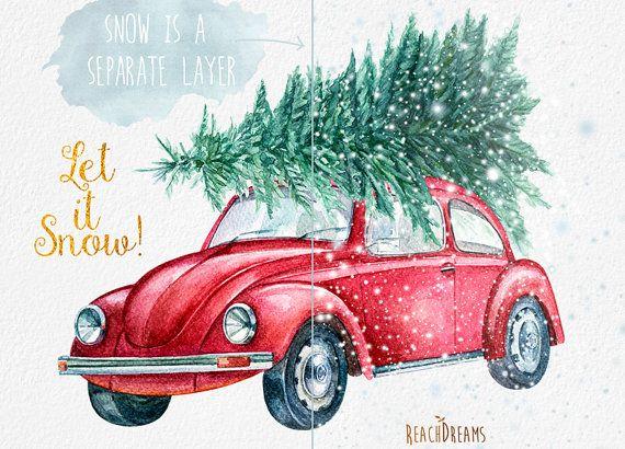 Beatle clipart christmas Clipart 89 Cute Tree best