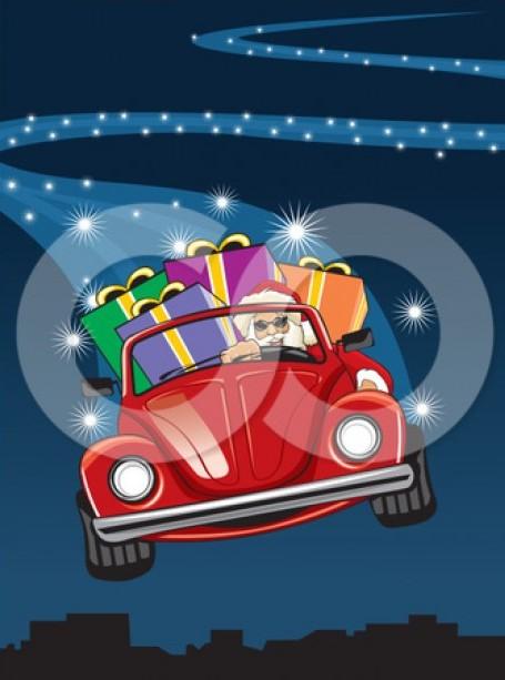 Beatle clipart christmas Happy Gti Golf Christmas… Christmas…