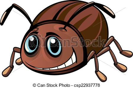Beatle clipart christmas Vector  beetle Illustration style