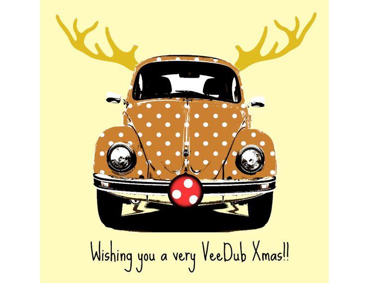 Beatle clipart christmas Beetle Xmas Pinterest VW Bug