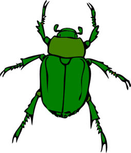 Bugs clipart green bug Clip at vector Art Green