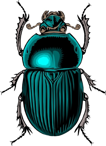 Beatle clipart bug Vector Bug svg art (
