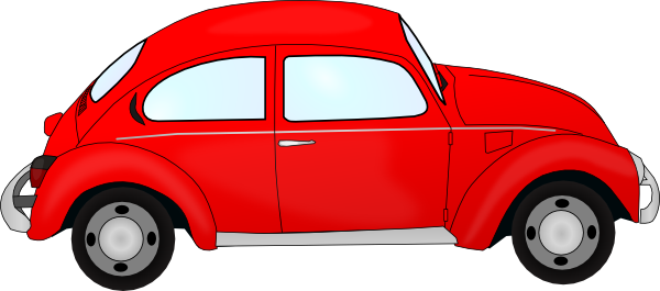 Beetle clipart red bug Clip as: vector Vw image