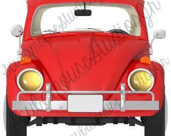 Beetle clipart red bug Clip Single Love Red Clipart