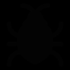 Beatle clipart silhouette Bug Silhouette Silhouette Bug Silhouette